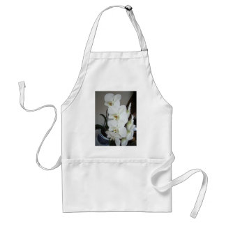 white orchids standard apron