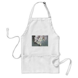 WHITE ORCHIDS STANDARD APRON