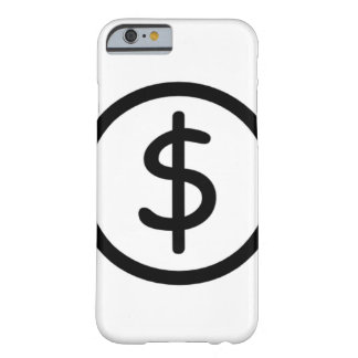 """White """"Original in Black"""" iPhone 6 Simple Case Barely There iPhone 6 Case"""