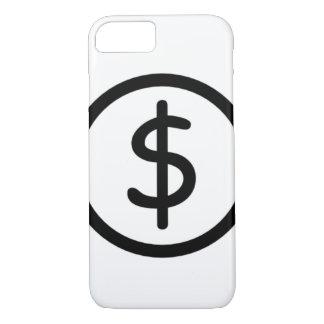 """White """"Original in Black"""" iPhone 7 Simple Case"""