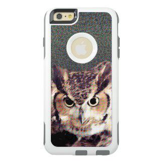 White Otterbox Apple iPhone Case - Owl