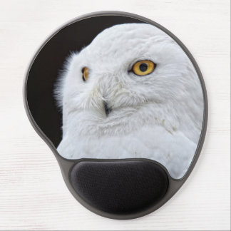 White Owl Gel Mouse Mats