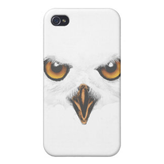 White Owl iPhone 4 4S Case