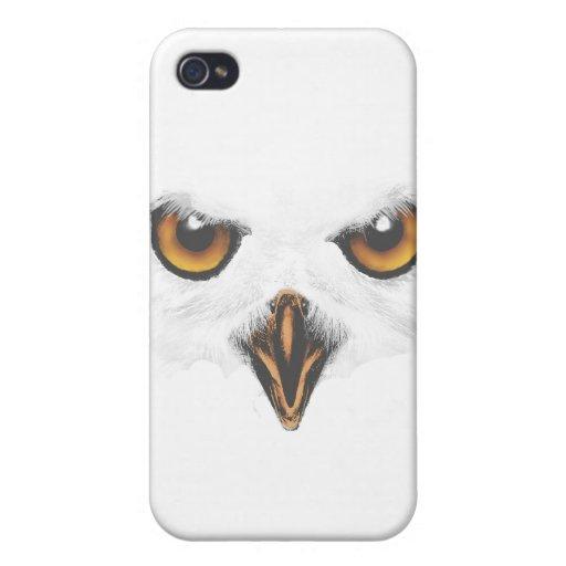 White Owl iPhone 4/4S Case