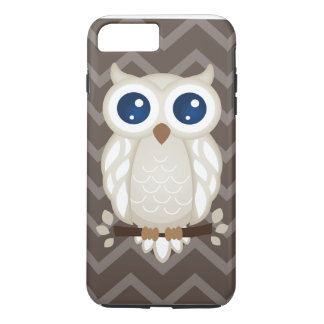 White Owl iPhone 7 Plus Case