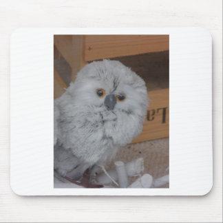 White Owl Mousepads