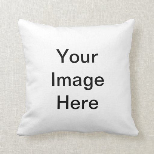 White Pages Blank Templates Pillows