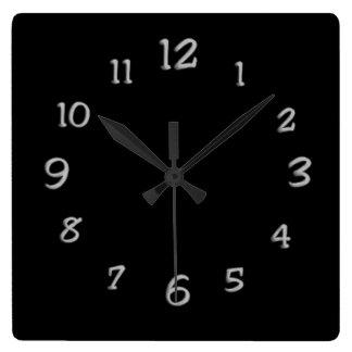 White Paint Clock Face