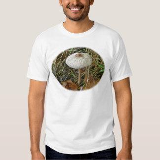 White Parasol Mushroom Coordinating Items T Shirts
