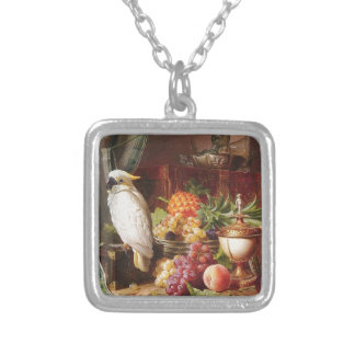 White Parrot exotic fruit bird cockatiel Custom Jewelry