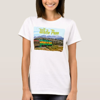 White pass Ladies Ladies Baby Doll (Fitted) T-Shirt