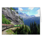 White Pass & Yukon Route Husband Train Birthday Card