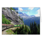 White Pass & Yukon Route Son Train Happy Birthday Card