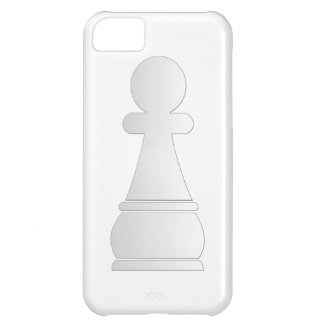 White pawn chess piece iPhone 5C case