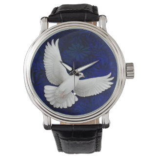 White Peace Dove Watch