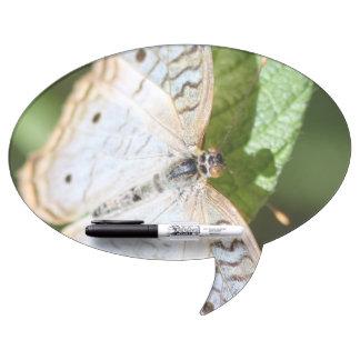 White Peacock Anartia Jatrophae Dry-Erase Whiteboards