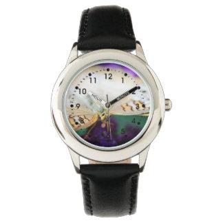 White Peacock Anartia Jatrophae Wrist Watches