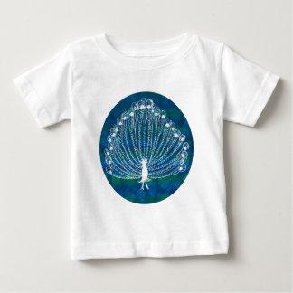White Peacock Baby T-Shirt