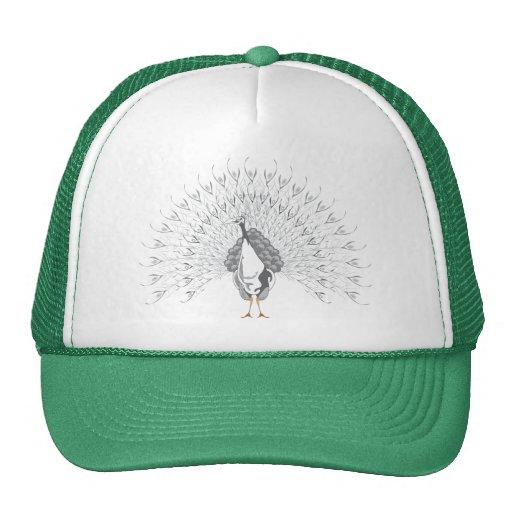 White Peacock Caps