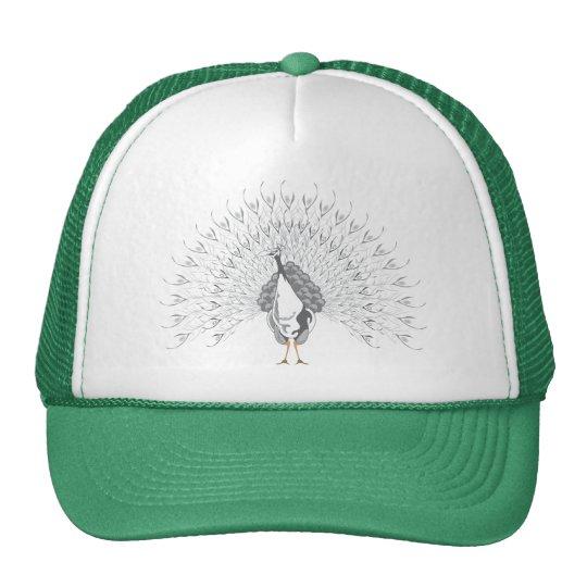 White Peacock Caps Cap