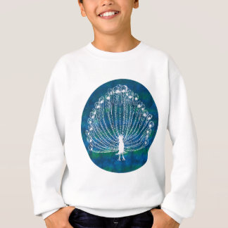 White Peacock Sweatshirt