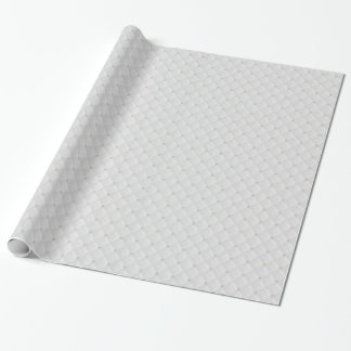 White Pearl Stud Quilted Wrapping Paper
