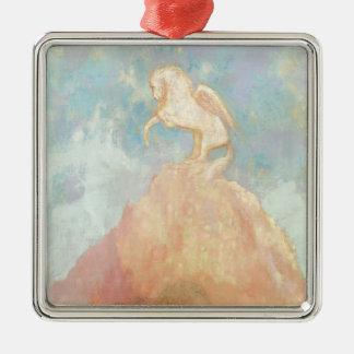 White Pegasus, c.1908 (oil on canvas) Christmas Ornament
