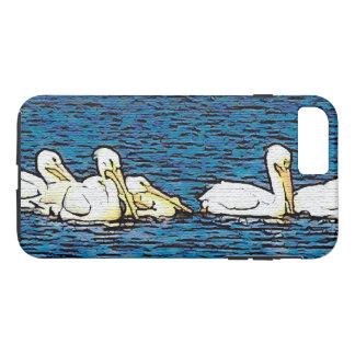 White Pelican Birds Wildlife Animal iPhone 7 Case