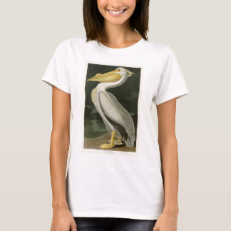 White Pelican John James Audubon Birds of America T-Shirt
