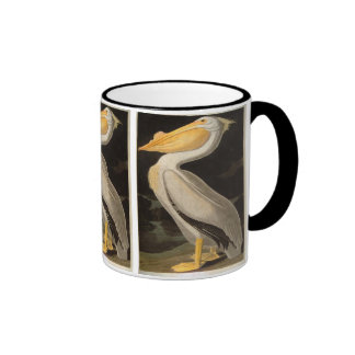 White Pelican, John James Audubon Mugs