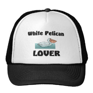 White Pelican Lover Trucker Hats