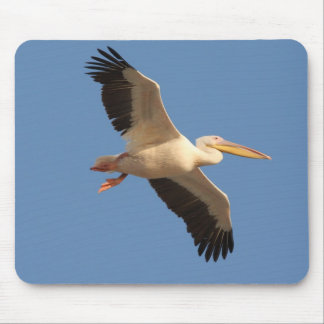 White Pelican Mouse Mat