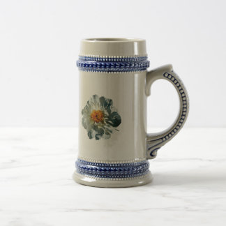 White Peony in Sunshine Coffee Mug