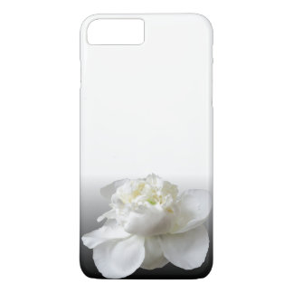 white peony iPhone 8 plus/7 plus case