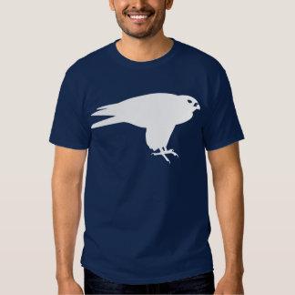 White Peregrine Falcon Animal Print Tshirts