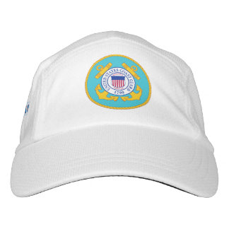 White Performance US Coast Guard Logo Hat