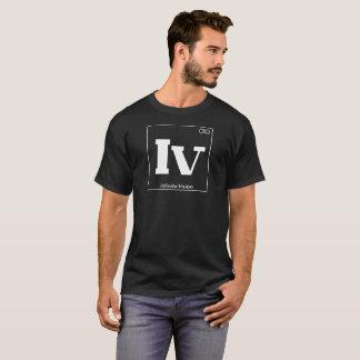 White Periodic Table Infinite Vision T-Shirt