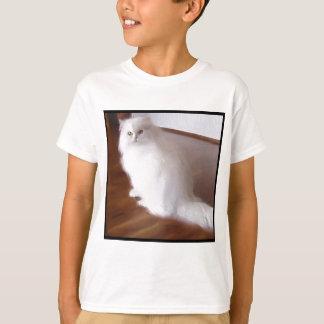 White Persian Cat T-Shirt