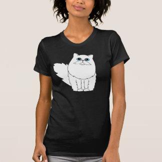 White Persian Cat w/ Blue Eyes T-Shirt