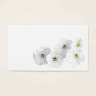 White Petunias Business Card