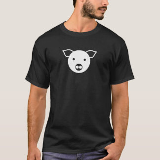 White Pig, Piggy, Leather, Dom, LGBT, Gay, Piggish T-Shirt