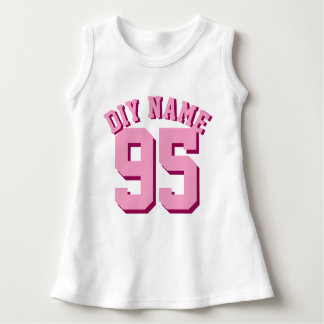 White & Pink Baby | Sports Jersey Design Tee Shirt