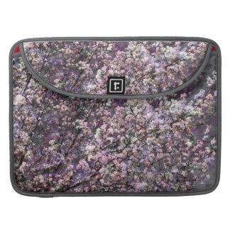 """White Pink Cherry Blossoms 15"""" Laptop Sleeve Sleeves For MacBooks"""