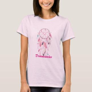 White pink dreamcatcher apparel T-shirts