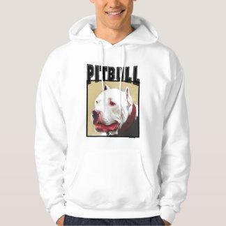 White Pitbull Hoodie