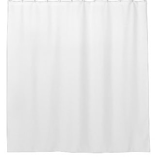 white plain showercurtain shower curtain