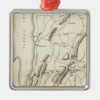 White Plains and Weapons Christmas Ornament