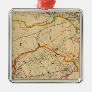 White Plains, Harrison, Rye, New York Christmas Ornament
