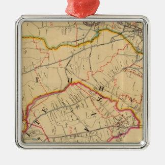 White Plains, Harrison, Rye, New York Christmas Ornament