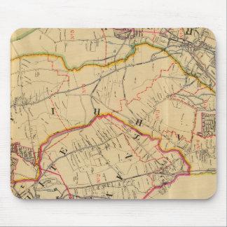 White Plains, Harrison, Rye, New York Mouse Mat